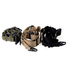 New Adjustable 2 Dual-Point Bungee Rifle Gun Sling Strap Tactical Elastic Belt