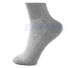 10 Pairs Lot Men Cosy Cotton Sport Socks For Football Basketball 3 Colors