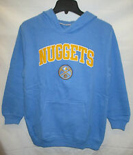 Denver Nuggets YOUTH Hooded Sweatshirt   Embroidered Logo & Lettering