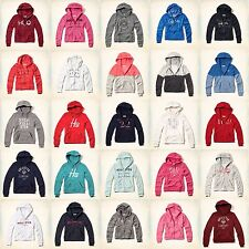 New Hollister By Abercrombie Womens Hoodie Sweatshirt Pullover Size XS S M L