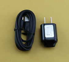 For HTC Phones Travel AC DC Wall Home Adapter + Micro USB Charger Cord Cable