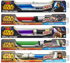 Hasbro Star Wars Lightsaber Electronic Lights & Sounds +Extending Blade ~ Choose