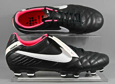 Nike Tiempo Mystic IV FG womens football boots - Black/White