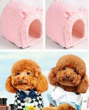 Pet Dog Cat Rabbit Warm Cute Nest Puppy Soft Bed Warm House Kennel With Mat  S