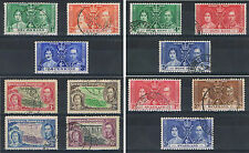 1937 Coronation Omnibus Single Sets Used. Choice of Countries.