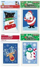 CHRISTMAS PARTY TREAT BAGS - Xmas Childrens Kids Gift Loot Sweets Candy Cello