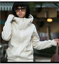 New Women's Overcoat Hooded Warm Thicken Coat Pullover Cotton Casual Comfort Hot
