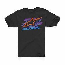 Alpinestars Men's Short Sleeve T-Shirt Dawn Tee Black