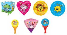 Mr. Men & Little Miss FOIL BALLOONS (Birthday/Party/Decoration/Inflate-a-Fun)