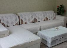 Lace Floral Chair Sofa Cover Loveseat Protector Couch Covers Furniture Slipcover