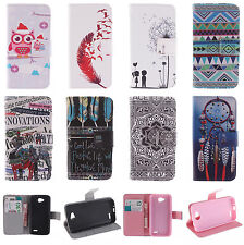 Flip Card Holder Wallet Leather Gel Case Cover Stand For LG Sony Nokia HTC Moto