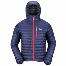 Rab Microlight Alpine Mens Down Jacket Navy All Sizes