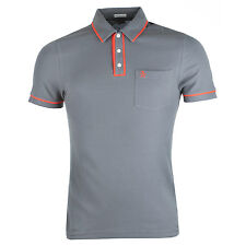 Mens Penguin Earl Updated Polo Shirt In Grey PG3