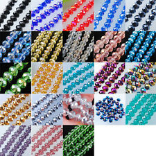 Free shipping Top Quality Czech Crystal Faceted Loose Beads 6MM 8MM 10MM BA003