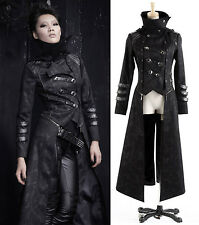 New Arrival!!PUNK Rave HARD KING Cosplay Gothic MILITARY JACKET BLACK BLAZER