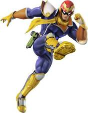 CAPTAIN FALCON Super Smash Bros Decal Removable WALL STICKER Art Mario Wii U