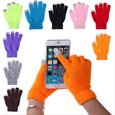 Women/Men Winter Touch Screen Gloves For Smart Phone Tablet Full Finger Mittens