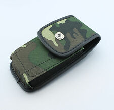 Rugged Heavy Duty Canvas Case Cover Pouch Clip Holster -See Compatibility Inside