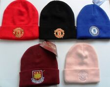 Football Team Knitted Crest Cuff Bronx Beanie Woolly Hat  Official
