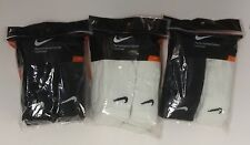 Nike 6 pair Crew Performance Socks Black White Men 8~12 Women 10~13 SX4433