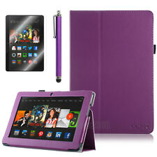 "For Amazon Kindle Fire HDX 8.9"" inch Magnetic Folio PU Leather Case Stand Cover"