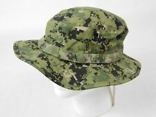 US Navy NWU Type III Boonie Cap Sun Hat Cover Green Digital AOR2 S-XL Bucket Hat