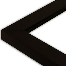Satin Black Picture Frame-Solid Wood