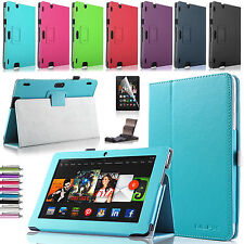 """Folio PU Leather Folding Case Cover Stand for Amazon Kindle Fire HD HDX 8.9"""""""