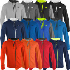 Under Armour 2015 Mens Charged Cotton Storm Rival Full Zip Hoody Pullover Hoodie