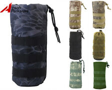 Tactical Camping Hiking Outdoor Camo Molle Water Bottle Pouch Bag Carrier Holder