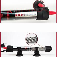 50w/300w Submersible Heating Rod Aquarium Glass Fish Tank Temperature Adjustment