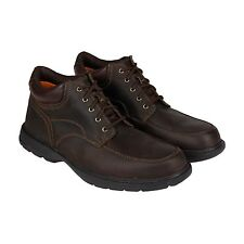 Timberland Mens Earthkeepers Richmont Moc Toe Brown Casual Dress Chukkas