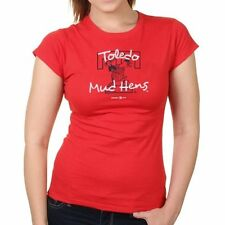 Toledo Mud Hens Women's Red Softstyle T-Shirt