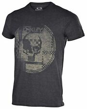 Oakley Men's Skull Race Graphic T-Shirt-Jet Black