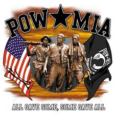 Pow Mia All Gave Some Some Gave All Short Sleeve T Shirt
