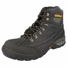 MENS CATERPILLAR LEATHER STEEL TOE CAP SAFETY BOOT DYNAMITE P716206