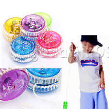 Light Up Yoyo Trick Yo Yo  Clutch Mechanism Toy Speed Ball Return Top For Child