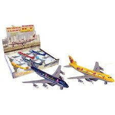 Pull Back 18 cm Metal Turbo Jet Airliner Plane toy aeroplane toy New