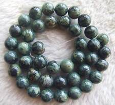 """6mm 8mm 10mm Green Rhyolite Round Loose Beads Spacer DIY Jewelry Making 15.5"""""""