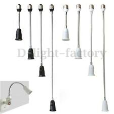E27 ES Socket LED Light Bulb Lamp Holder Flexible Extension Adapter Converter