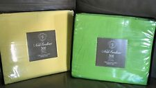 Noble Excellence EXTRA LONG TWIN Sheet Set DORM/Hospital Bed LIME GREEN-YELLOW