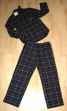 NWT Ralph Lauren Women's NORWICH Flannel 2-Pc Pajamas Set Purple Plaid $68 NEW