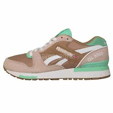 Reebok GL 6000 Athletic Classic Walnut Mint White 2015 Running Casual Shoes