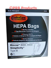 Type B HEPA Vacuum Bag For Simplicity Commercial Upright 7200 7250 7300 7350