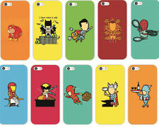 New Cute Super Hero Patterned PC Hard Case Cover Back Skin For iphone 5 5S