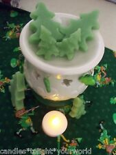 6 GRUBBY PRIMITIVE TREE WAX CANDLE TARTS FOR USE WITH ANY TART  WARMER  BURNER