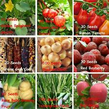 Vegetable & fruits seeds garden NON GMO / hybrid organic Survival Heirloom Plant