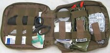 Enhanced IFAK Level 1 FA200 in Black Tan ACU or OD Green by Elite First Aid Inc