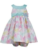 Bonnie Jean Baby Girl Mint Butterfly Easter Holiday Wedding Dress 12M 18M 24M