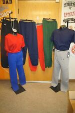 RUSSELL ATHLETIC ADULT SWEATPANTS, NO POCKETS, ELASTIC CUFF